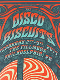 The Disco Biscuits - 2017 Derek Hatfield Poster Philadelphia, PA The Fillmore