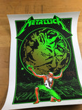 Metallica - 2017 Ames Brothers poster East Rutherford, The Meadowlands S/N