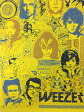 Weezer - 2008 Todd Slater Poster Broomfield, CO Broomfield Event Center