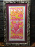 Phish - 2000 Jim Pollock poster Hartford, CT Meadows Music Theatre, Framed