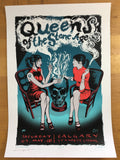 Queens of the Stone Age - 2008 Justin Hampton Poster Calgary, CAN Calgary Stampe
