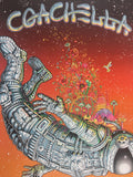 Coachella - 2014 EMEK Poster Indio, CA Empire Polo Club, Sunset Edition of 75