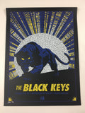 The Black Keys - 2011 Todd Slater Poster Columbia, MD Merriweather Post Pavillio