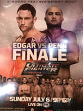 UFC poster Edgar vs. Penn Finale Ultimate Fighter Tuf Fight Night