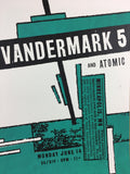 Vandermark 5 - 2004 Amy Jo Hendrickson poster Minneapolis, MN