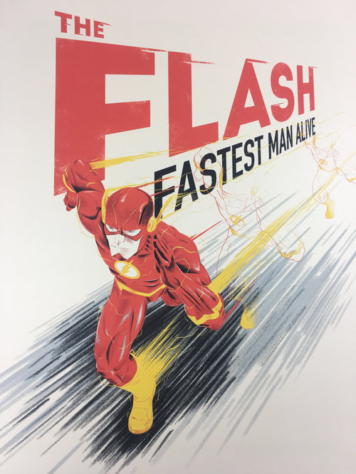 The Flash - 2018 Doaly Poster Art Print