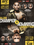 UFC 212 Poster - Aldo vs Holloway