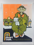 Pearl Jam - 2003 Ames Brothers poster Philly, Pittsburgh, State College