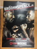 Boxing - 2017 Poster Brook vs Spence