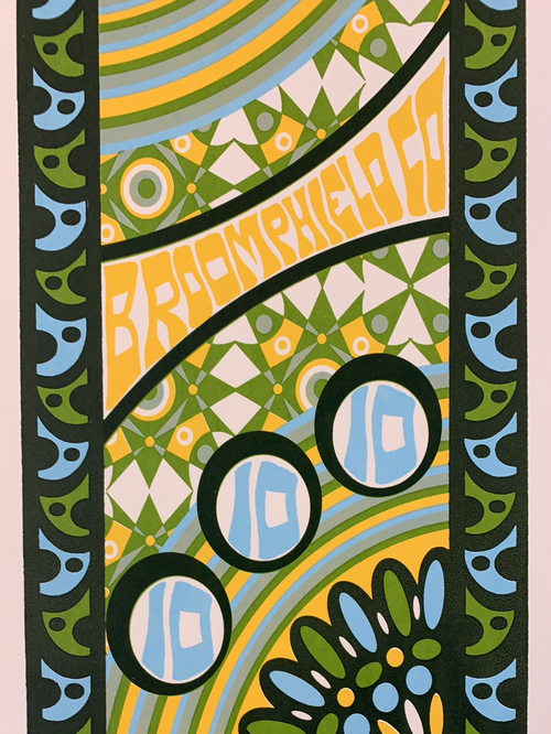 Phish - 2010 Tripp poster 1st Bank Center Broomfield, CO 10/10
