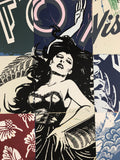 Visions Victorie - 2017 FAILE poster, art print, limited edition hand signed