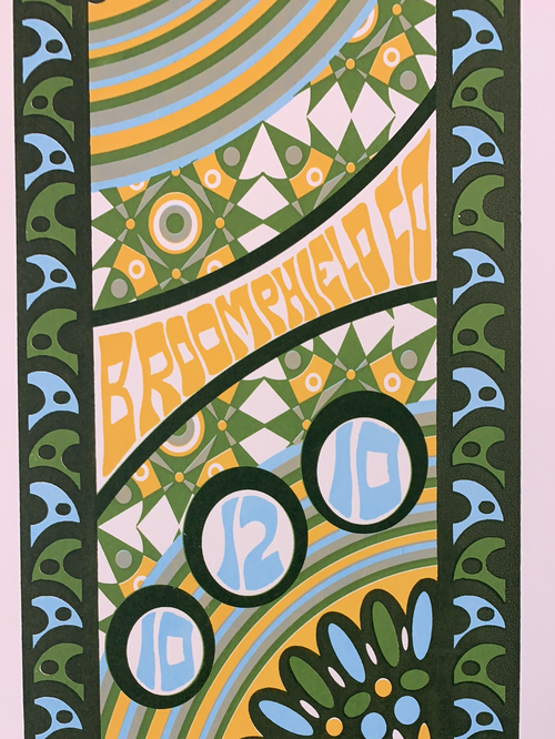 Phish - 2010 Tripp poster 1st Bank Center Broomfield, CO 10/12