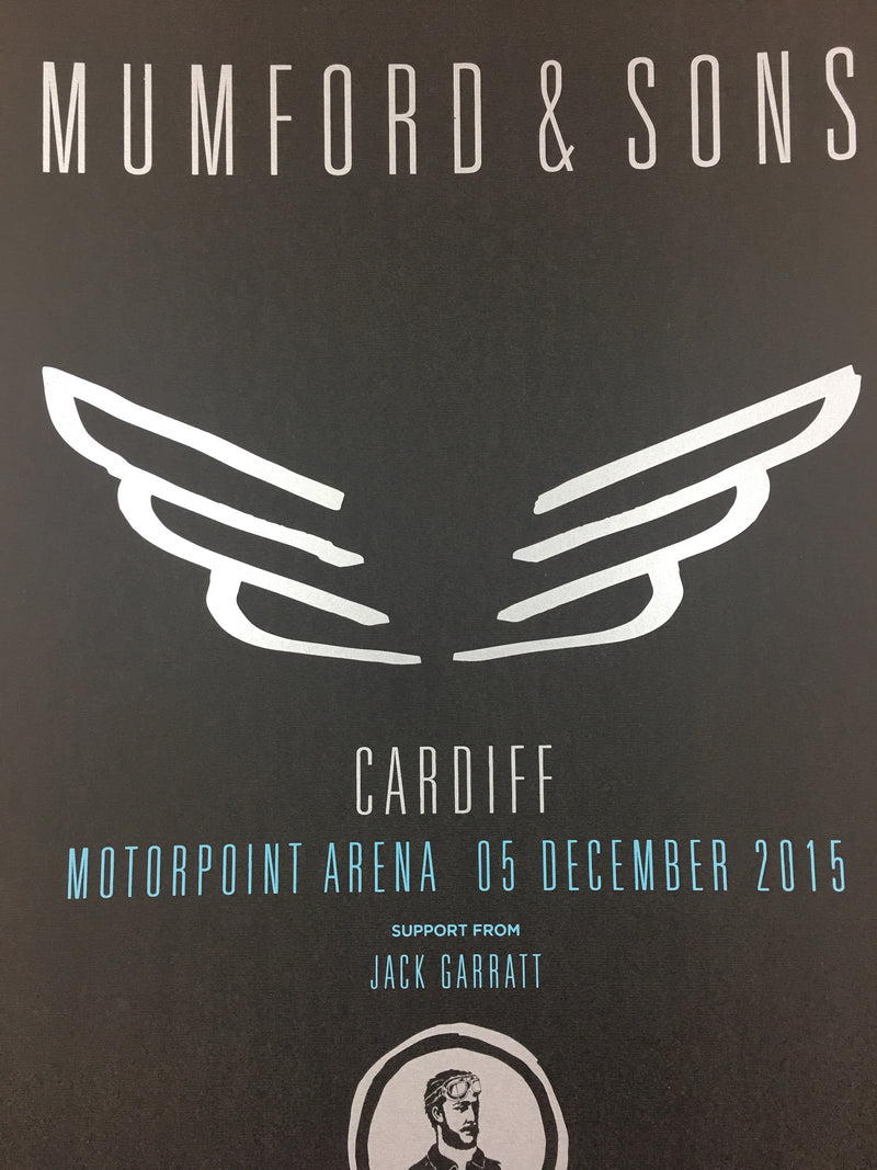 Mumford & Sons - 2015 Poster Cardiff, Wales Motorpoint Arena