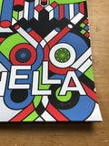 Coachella - 2017 Nate Duval poster AP signed Empire Polo Indio, CA ed 2
