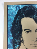 Neil Diamond - 2017 Xray Poster New Orleans, LA Smoothie Kings Theater
