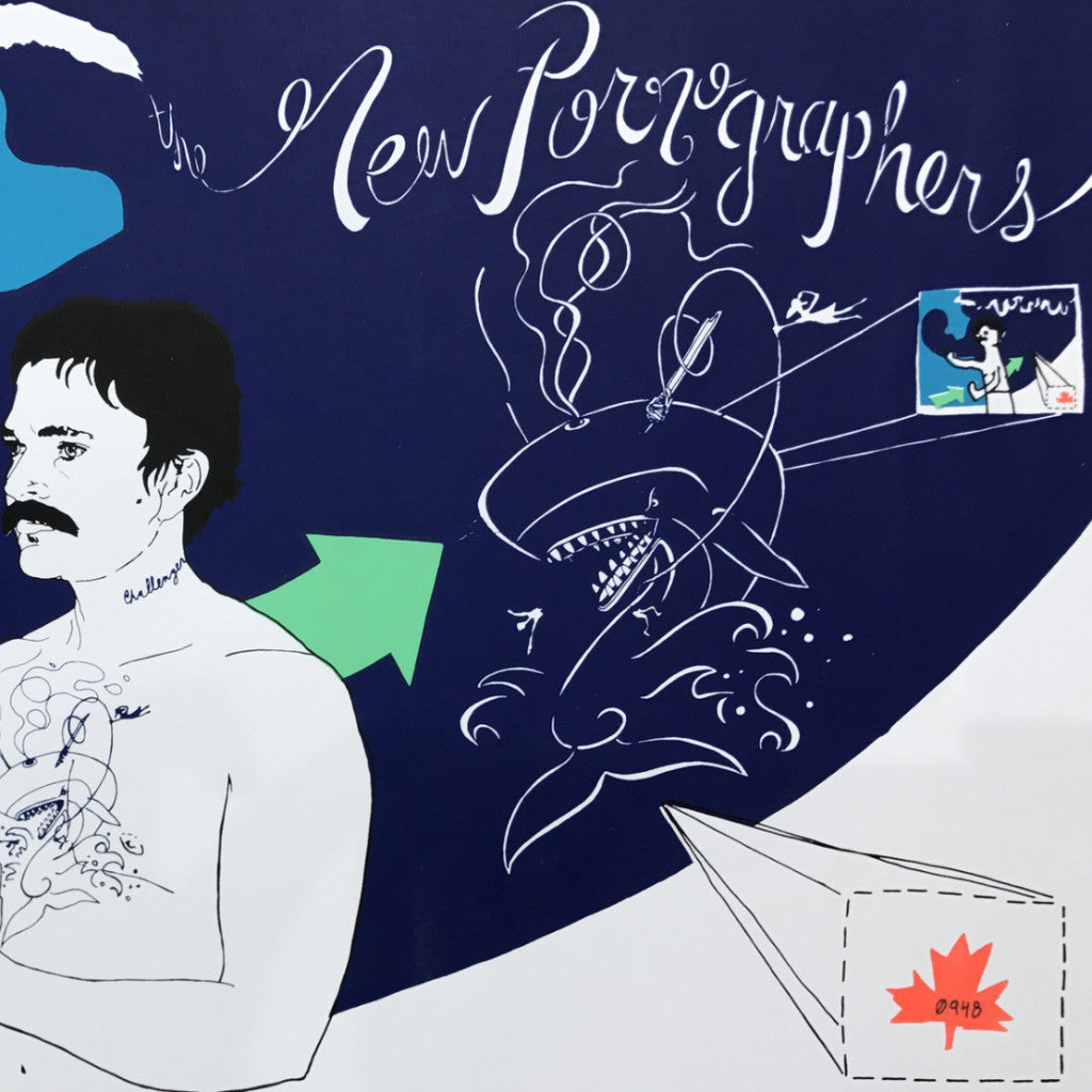 The New Pornographers - Record Release poster Challenger