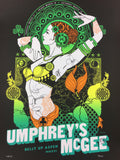Umphreys McGee - 2016 Scrojo poster Belly Up Aspen, CO Band Autographed