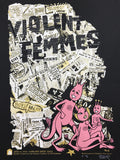 Violent Femmes - 2016 Billy Perkins poster Chicago Concord Music Hall