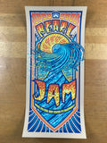 Pearl Jam - 2016 Brad Klausen poster Ft. Fort Lauderdale BB&T Center