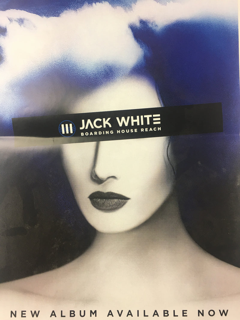 Jack White - 2018 Boarding House Reach Album Poster