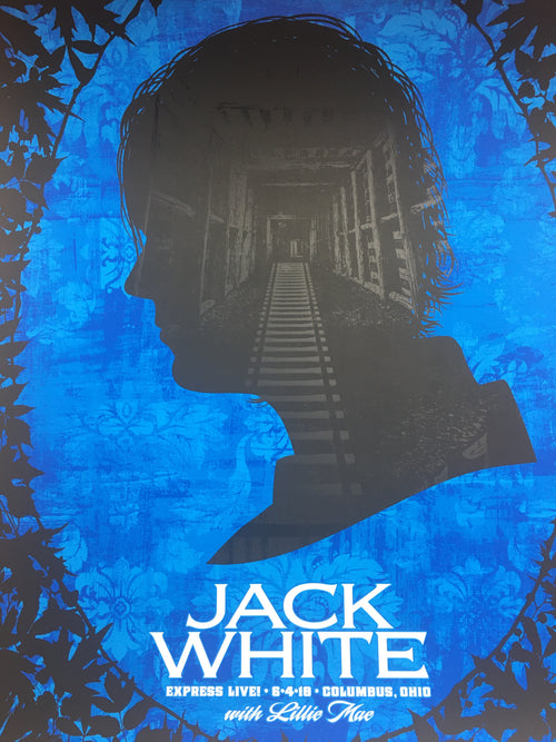 Jack White - 2018 Todd Slater poster Columbus, OH Express Live