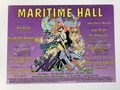 Maritime Hall - 1996 Amanda Connor poster November San Fran 1st