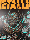 Metallica - 2018 Munk One Poster Bologna, IT Unipol Arena 2/14