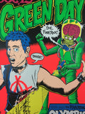 Green Day - 1995 Chris Coop Poster Los Angeles, CA Olympic Auditorium