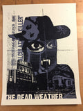 The Dead Weather - 2009 Methane Studios Poster Portland Roseland Theatre
