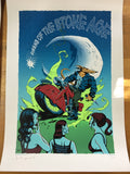 Queens of the Stone Age - 2008 Justin Hampton Poster Edmonton AB, CAN Agricom Ha