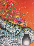 Coachella - 2014 EMEK Poster Indio, CA Empire Polo Club, Sunset Edition of 50