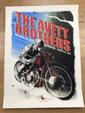 The Avett Brothers - 2013 Zeb Love poster Seattle, WA, Key Arena
