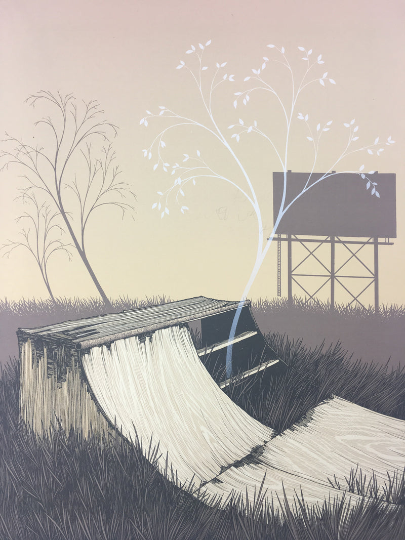 Plans We Made For Every Summer- 2013 Justin Santora Poster Art Print
