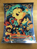Popeye the Sailor Meets Sindbad the Sailor - 2014 Tom Whalen Poster Foil Green V