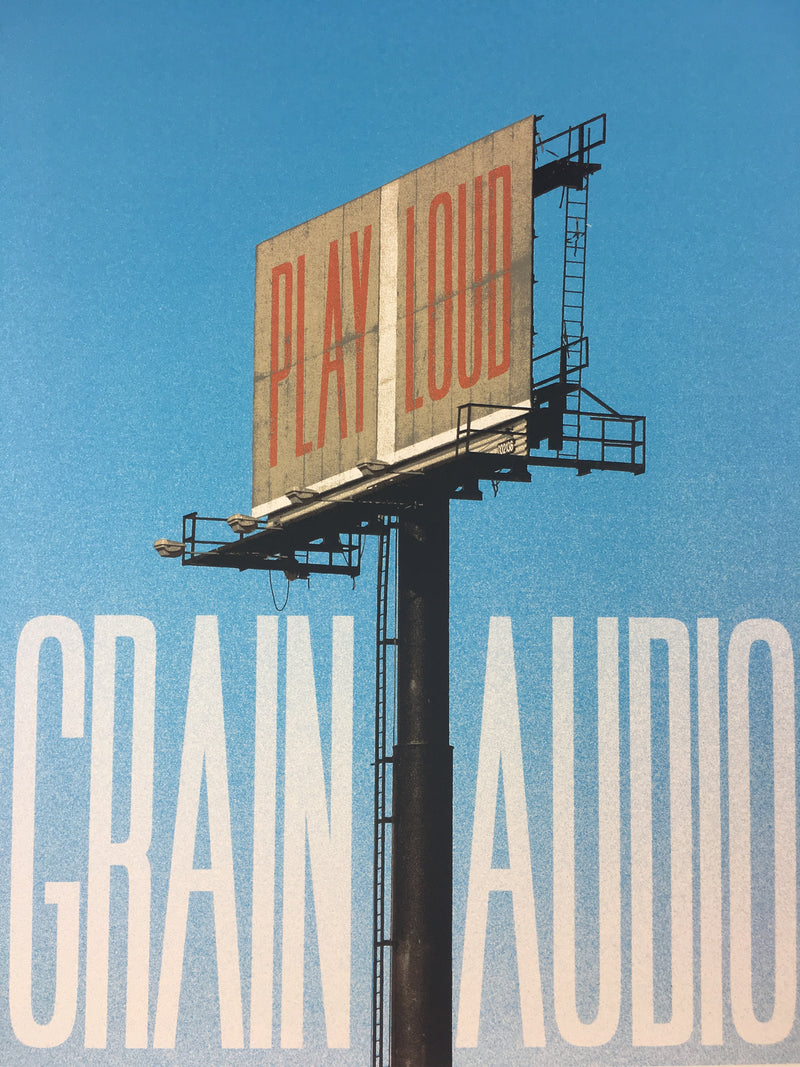 Grain Audio - 2013 Dan MacAdam Crosshair Poster Art Print