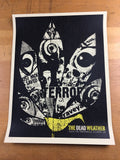 The Dead Weather - 2009 Methane Studios Poster Atlanta Tabernacle