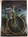 Cybercycle - 2009 EMEK sheet metal not poster Built to Spill The Faded Line