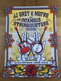 JJ Grey and Mofro - 2016 Derek Hatfield poster Red Rocks Morrison, CO