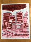 Vandermark 5 - 2004 Little Friends of Printmaking poster Madison, WI The North S