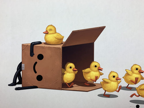 Boxo II (Ducks 2) - 2019 Mike Mitchell poster print SOFA Con