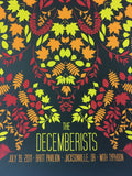 The Decemberists - 2011 Todd Slater Poster Jacksonville, OR Britt Pavillion