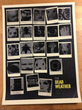 The Dead Weather - 2009 Methane Studios Poster Dallas House of Blues