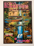 Echo and the Bunnymen - 2001 Forest Love poster Fillmore Auditorium San Fran 1st