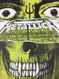 Metallica - 2018 We Three Club Poster Bologna, IT Unipol Arena