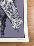 Cali Girl - 2016 David Welker poster, art print, Blink 182
