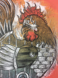 Year of the Rooster - 2008 Dan Grzeca Poster Art Print