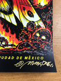 Metallica - 2017 Munk One poster Mexico City N3 S/N AP Foro Sol Arena