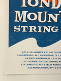 Yonder Mountain String Band - 2006 Decoder Ring poster Cabin Fever Tour
