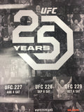 UFC 25 Years - 2018 Poster 227, 228, 229