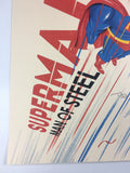 Superman - 2018 Doaly Poster Art Print